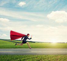 Drop superwoman!